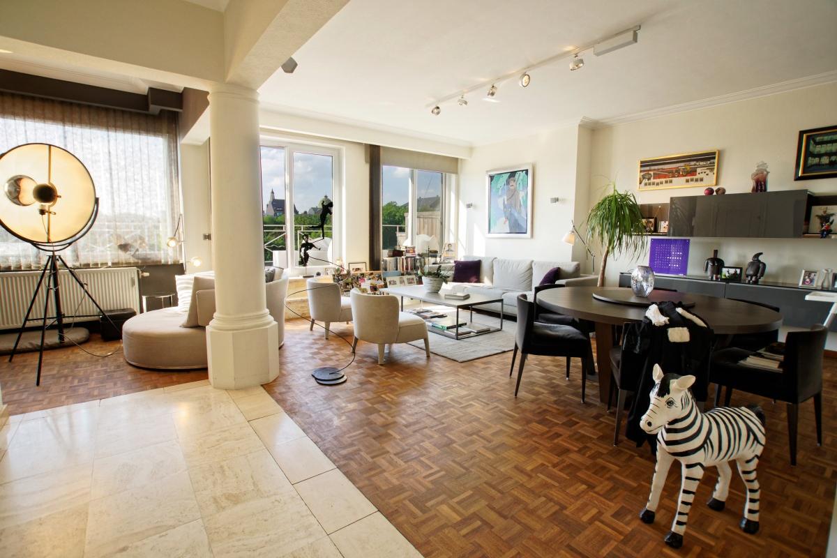 Splendide penthouse, vue sur parc - Xcellence immobilière